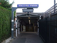 Dollis Hill stn north entrance.JPG