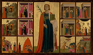 Saint Catherine of Alexandria and Twelve Scenes from Her Life