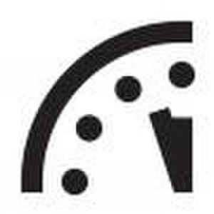 Doomsday Clock - Image: Doomsday Clock 3 minute mark