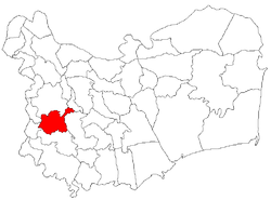 Location of Dorobanţu