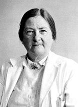 Dorothy H. Andersen, quien describió por primera vez la fibrosis quística (National Library of Medicine)