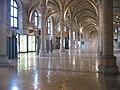 Dortoir des moines ancienne abbaye bénédictine Saint-Bénigne Dijon France.JPG