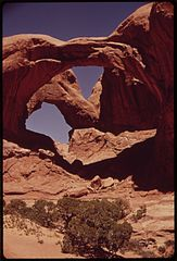 Double Arch in Windows Section of Arches National Park, 05-1972 (3814151989).jpg