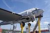Douglas DC-3 Lufthansa D-CADE BelowRNose SATM 05June2013 (14414085769) .jpg