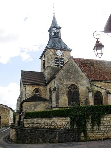 Doulevant-le-Château, transept nord de l'église Saint-Louvent.