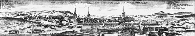 Kupferstich von Matthäus Seutter 1755