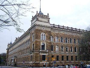 Arwed Roßbach - Landgericht (former Amtsgericht), Dresden
