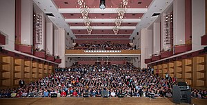 Fairfield Halls - The concert hall in 2011