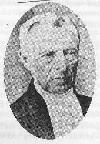 Eerste Pastorie Winburg - ds Dirk Van Velden