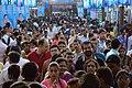 Durga Puja Spectators - Baghbazar Sarbojanin Durgotsav - Nivedita Park - Kolkata 2014-10-03 9304.JPG