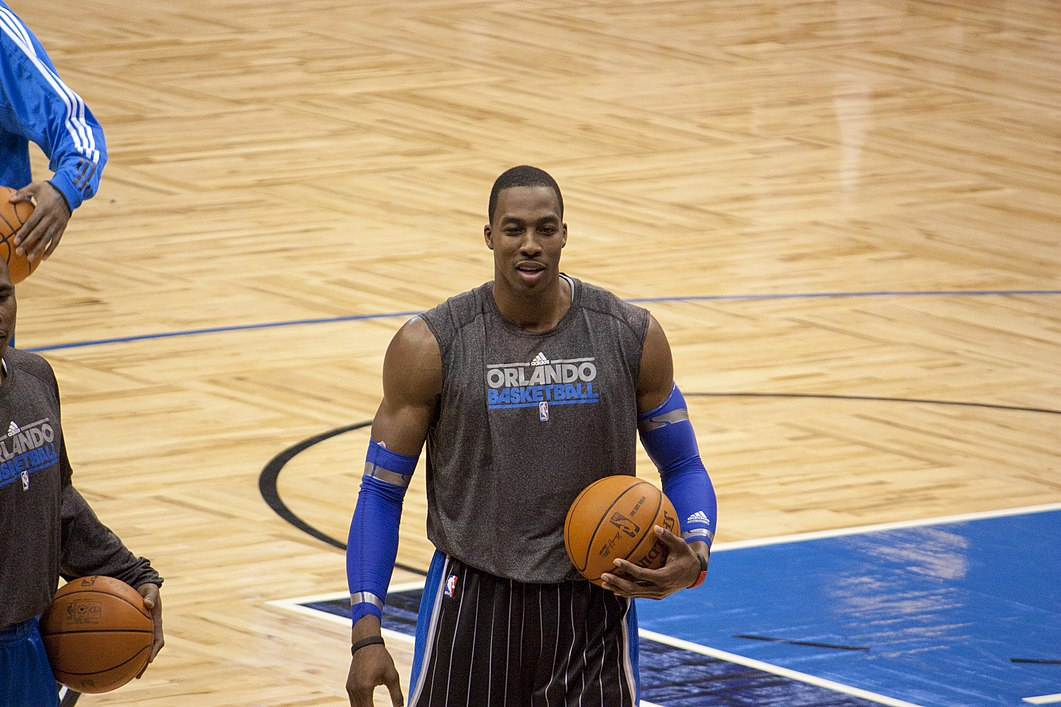 On Valanciunas ... Dwight Howard Shoulder Workout