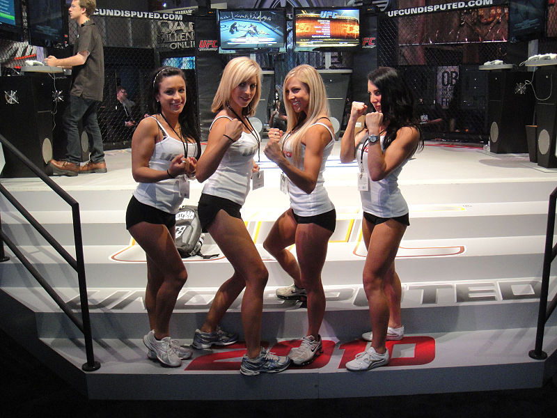File:E3 2010 UFC Undisputed 2010 booth babes.jpg