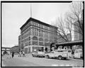 EAST FRONT AND SOUTH SIDE, GENERAL VIEW - Mutual Life Building, 601-607 First Avenue, Seattle, King County, WA HABS WASH,17-SEAT,3-1.tif