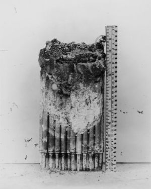 Experimental Breeder Reactor I - Part of the core after the 1955 partial meltdown