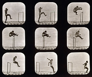 Barbarian II: The Dungeon of Drax - Image: Eadweard Muybridge Athletes. Walking High Leap