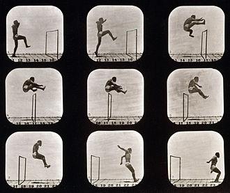 Barbarian II: The Dungeon of Drax - Image: Eadweard Muybridge Athletes. Walking High Leap