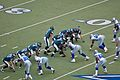 Eagles vs Cowboys 2007 - McNabb calls play to Schobel.jpg