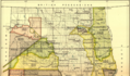Early Indian treaty territories, North Dakota. Map 1 (1851-1891).png