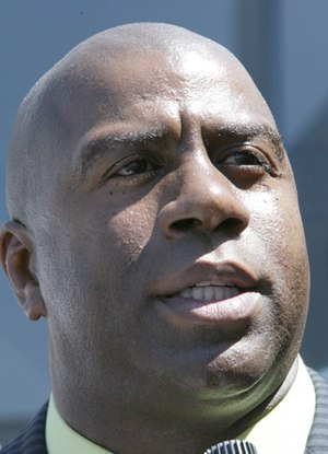 Magic Johnson - Johnson in 2007