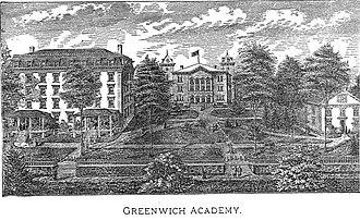 East Greenwich Academy - East Greenwich Academy, ca. 1877