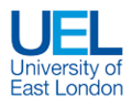 East London University logo.png