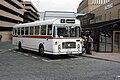 Eastern Counties NBC bus RLE741 Bristol RE ECW dual purpose GCL 343N in Peterborough Bus Station, Cambridgeshire May 1982.jpg