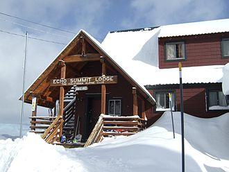 California Alpine Club - Echo Summit Lodge, south rim of Lake Tahoe Basin