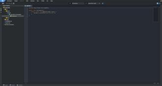 Eclipse Che - Image: Eclipse Che IDE Screenshot No Markers