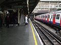 Edgware Road (Circle) stn westbound through look east.JPG