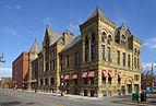 Edificio en el centro de Fort Wayne, Indiana, Estados Unidos, 2012-11-12, DD 01.jpg