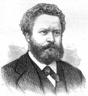 Edmond François Valentin About - About in 1875.