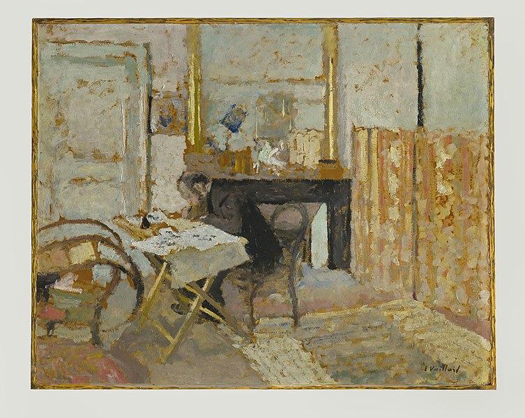 File:Edouard Vuillard - Ker-Xavier Roussel Reading - 713-1961 - Saint Louis Art Museum.jpg