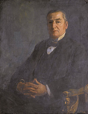 SOAS, University of London - Edward Denison Ross by John Lavery