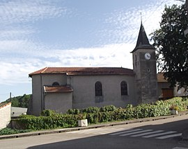 The church in Pierreville