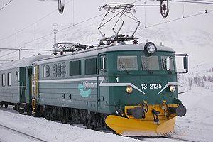 NSB El 13 - An El 13 operated by Ofotbanen AS