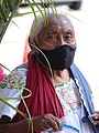 Elderly Mayan Woman in Covid Mask - Valladolid - Yucatan - Mexico.jpg