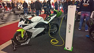 Energica Ego Energica Ego is an all-electric sport motorcycle.