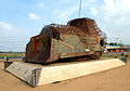 Elephant Pass armored bulldozer.JPG