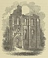 Elgin Cathedral (Woodcut) 1852.jpg