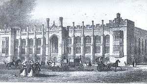 Liverpool College - The Original School on Shaw Street 1840-1907