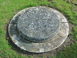 John Buchan - Lord Tweedsmuir's grave in St Thomas's churchyard, Elsfield