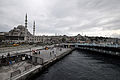 Eminönü and The New Mosque (Yeni Cami) on the left (8396712760).jpg