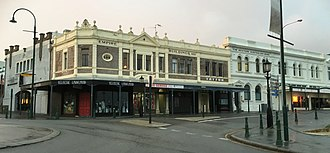 Stirling Terrace, Albany - Corner of York Street and Stirling Terrace in 2016