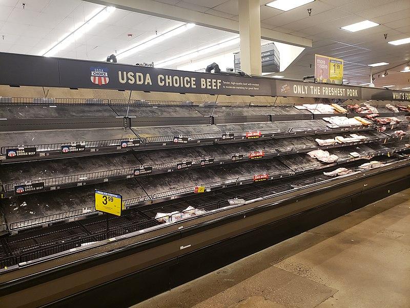 File:Empty meat shelves Colorado.jpg