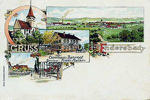 Weinstadt - Endersbach around 1900