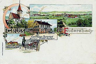 Weinstadt - Endersbach around 1900
