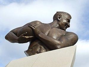 Alexander Obolensky - Statue of Prince Obolensky on Cromwell Square, Ipswich