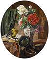 Ennemond Collignon Stillleben mit Blumen in einer chinesischen Vase 1852.jpg