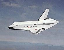 Enterprise bei einem Atmosph�renflug