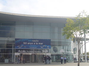 Entrada al Salo Nautic - Gran Via venue of Fira de Barcelona.JPG